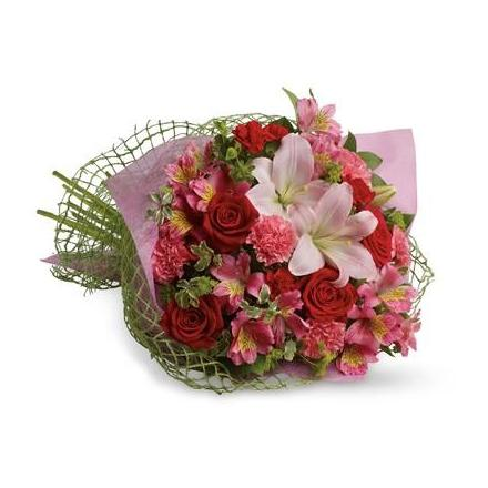 Fresh Bouquet in Pink