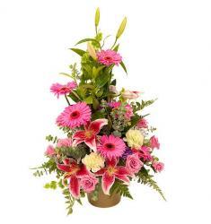 Arrangement in Pink and Fuchsia