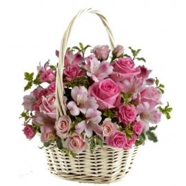 Pink phantasy basket