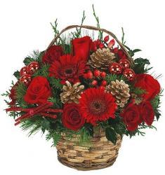 Christmas Holiday basket