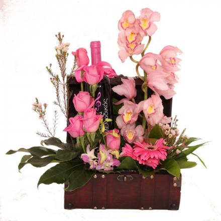 Floral arrangement with prestige