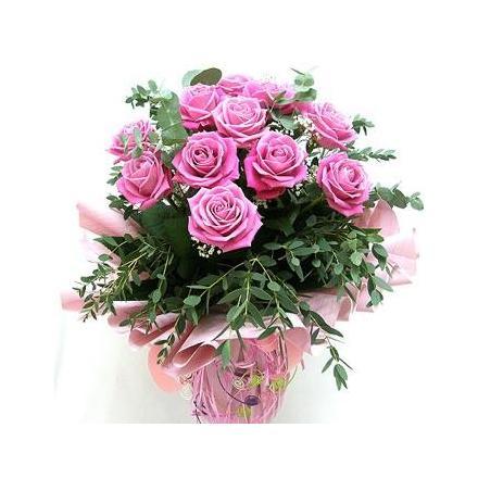 11 pink roses (BG)