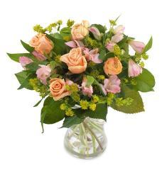 Ρομαντικό Μπουκέτο με Τριαντάφυλλα