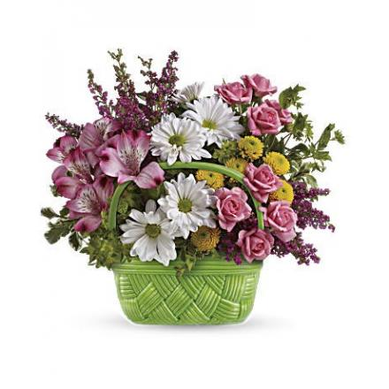 Basket Of Beauty Bouquet  (Αμερική)