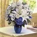 Μπουκέτο Beautiful in Blue (Αμερική)