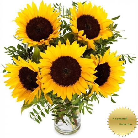 Bouquet of Sunflowers (PL)