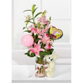 Pink lilies (TR)