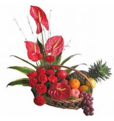 Flowers & Fruits Arrangement