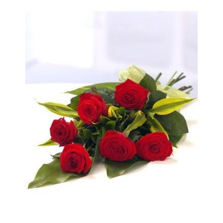 6 Red Roses bouquet