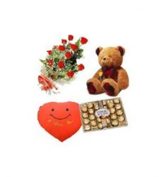 12 Rose Bouquet Gift Pack