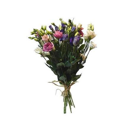Bouquet of eustoma mix
