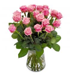 Perfectly Pink Rose bouquet (B)