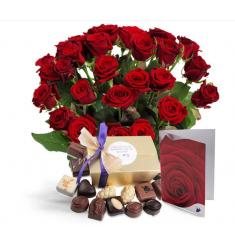 Giftset Red Roses (NL)