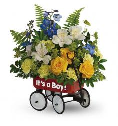 Sweet Little Wagon Bouquet Boy (USA)