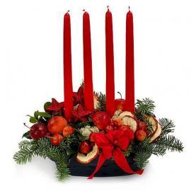 Σύνθεση με 4 κεριά