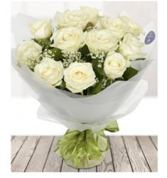 Dozen White Roses (UK)