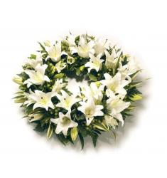 White Lily Wreath (UK)