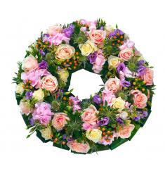 Pastel Wreath (UK)