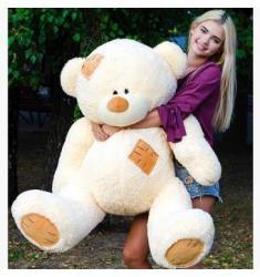 Teddy 135-140 cm, 6 colors