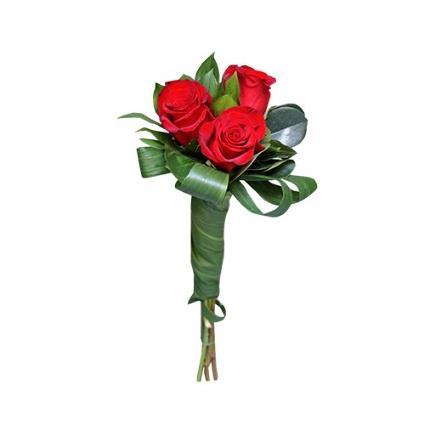 Three red roses bq (SR)