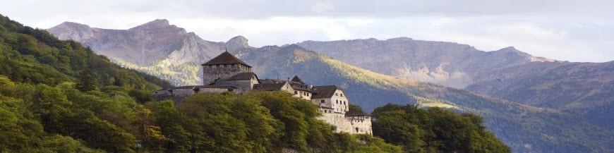 Liechtenstein via Switzerland