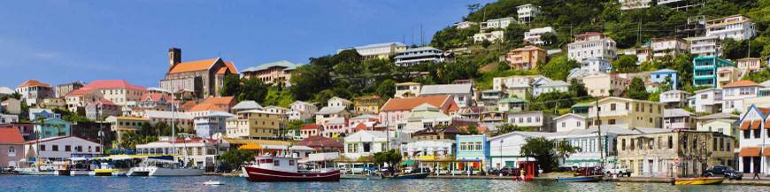 Grenada via USA