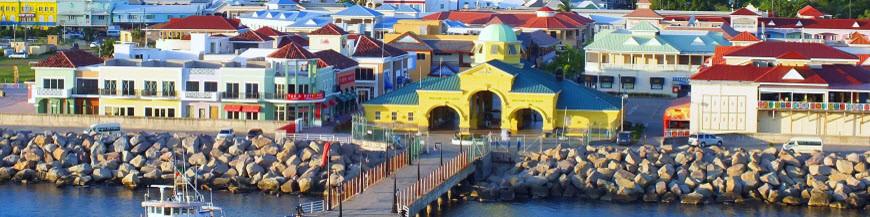 Saint Kitts and Nevis via USA