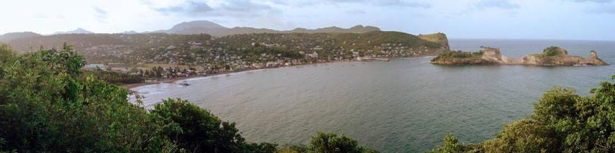 Saint Lucia/ Lesser Antilles via USA