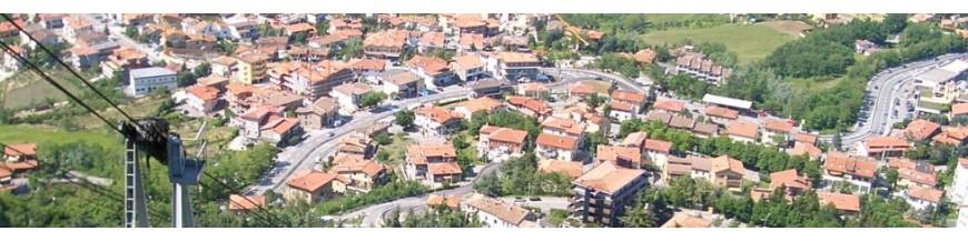San Marino via Italy